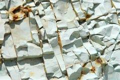 Zielony kamienny tło Fotografia Stock
