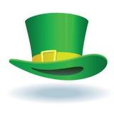 zielony kapelusz Obraz Stock