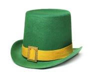 zielony kapelusz Zdjęcia Stock