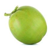 Zielony koks na białym tle obraz stock