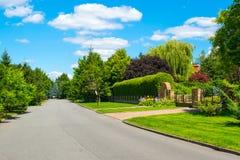 zielony krajobrazowy lato Zdjęcie Stock