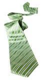 zielony krawat Zdjęcie Royalty Free
