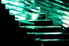 Zielony Krystaliczny schody Fotografia Royalty Free