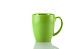 zielony kubek Obrazy Royalty Free