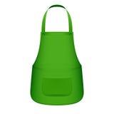 Zielony kuchenny fartuch Zdjęcia Stock