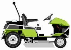 Zielony lawnmower Fotografia Stock