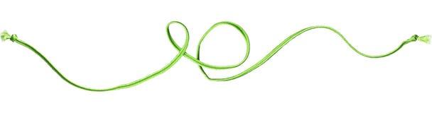 zielony linowy zawijas Obrazy Royalty Free