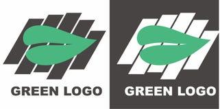zielony logo Obrazy Royalty Free
