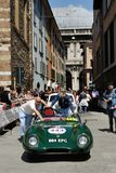 Zielony Lotus Jedenaście S2 Le Mans Fotografia Royalty Free