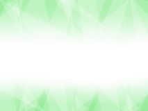 Zielony Lowpoly wektoru tło Obraz Royalty Free