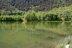 Zielony lustro góry zdjęcia stock