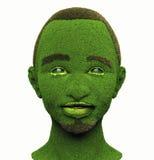 Zielony mężczyzna Obraz Stock