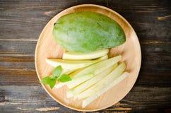 zielony mango Zdjęcia Stock