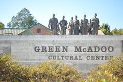 Zielony Mcadoo kulturalny centrum Obraz Royalty Free