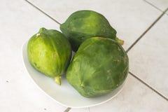 zielony melonowiec Zdjęcia Stock