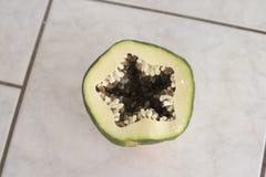 zielony melonowiec Fotografia Royalty Free