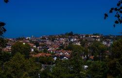 Zielony miasto zdjęcie royalty free