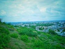 Zielony miasto zdjęcie stock