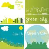 Zielony miasto Obrazy Stock