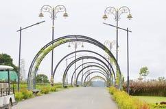 Zielony miasto park. Zdjęcia Stock