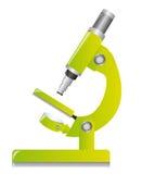 zielony mikroskop royalty ilustracja