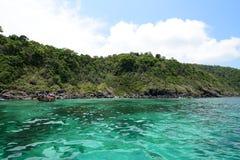 zielony morza Zdjęcia Stock