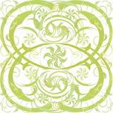 zielony nastrój Obraz Royalty Free
