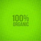 Zielony Naturalnej tkaniny tekstury tło Obraz Royalty Free