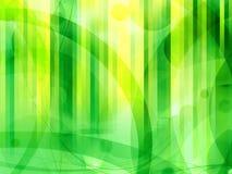 Zielony nowożytny abstrakcjonistyczny tło royalty ilustracja