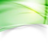 Zielony nowożytny tło projekta szablon Obrazy Stock