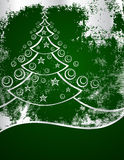 zielony nowy drzewny rok Fotografia Stock