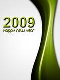 zielony nowy rok Fotografia Stock