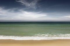 zielony ocean Zdjęcia Stock