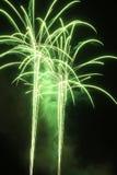 Zielony ogień Fotografia Royalty Free