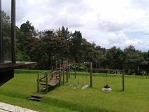 Zielony ogródu park Obrazy Stock