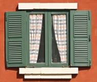 zielony okno Obraz Stock