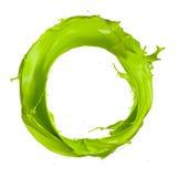 Zielony okrąg obraz royalty free