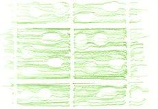 Zielony organicznie naturalny tło z eco grunge węgla drzewnego ołówkową teksturą Obraz Stock