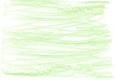 Zielony organicznie naturalny tło z eco grunge węgla drzewnego ołówkową teksturą Obraz Royalty Free