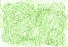 Zielony organicznie naturalny tło z eco grunge węgla drzewnego ołówkową teksturą Zdjęcie Stock