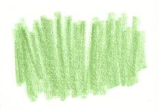 Zielony organicznie naturalny tło z eco grunge węgla drzewnego ołówkową teksturą Obrazy Royalty Free
