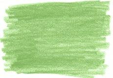 Zielony organicznie naturalny tło z eco grunge węgla drzewnego ołówkową teksturą Fotografia Stock
