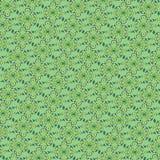 Zielony ornament ilustracji