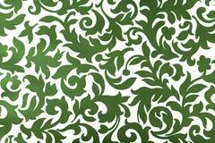 zielony ornament Fotografia Royalty Free
