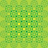 zielony ornament Zdjęcie Stock