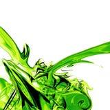 zielony płyn cieczy Zdjęcie Royalty Free