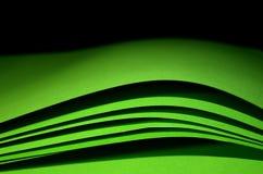 zielony papier Fotografia Stock