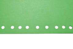 zielony papier Obraz Stock