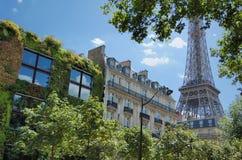 zielony Paris Fotografia Stock
