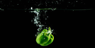 zielony peppera sweet Fotografia Royalty Free